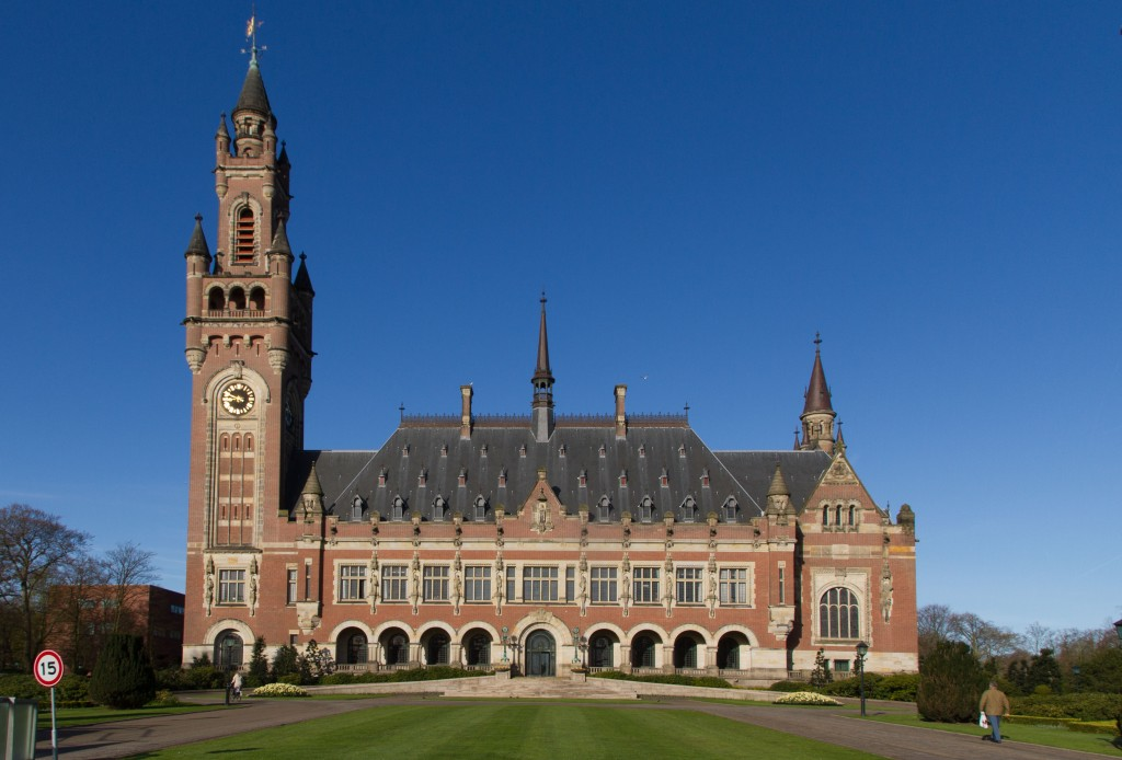 The International Court of Justice, The Hague
