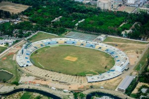The cricket ground at Chittagong