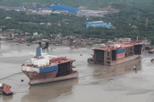 The incredible ship-breaking yards along the Chittagong coast